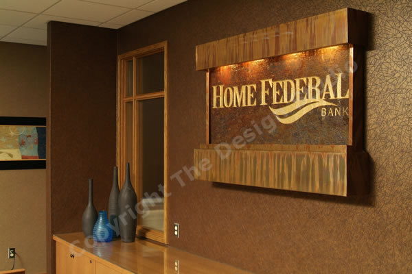 Interactive signage for Home Federal Bank